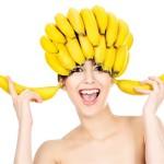 маска для волос с майонезом и бананом
