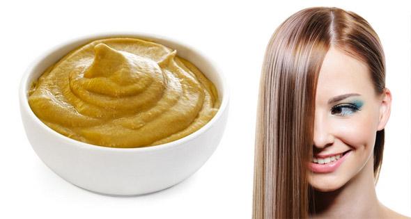 маска для жирных волос с горчицей