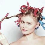 как накрутить волосы на бигуди папильотки