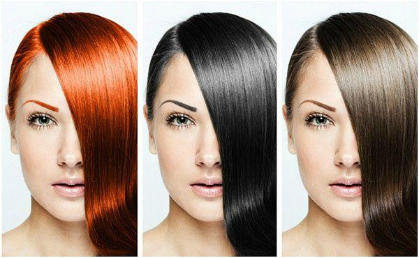 Цвет краски для волос выбрать