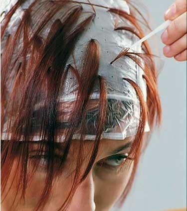 Как сделать мелирование волос в домашних