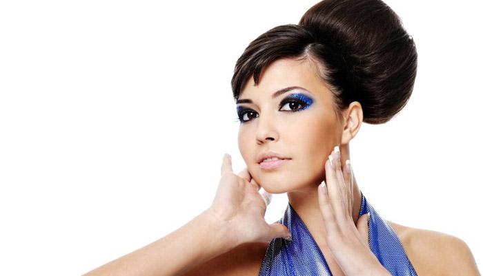 причёска с бубликом для волос способы
