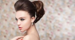 высокие прически на средние волосы фото
