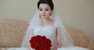 Королевские свадебные прически с диадемой и фатой