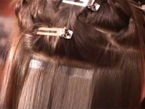 что такое ленточное наращивание волос