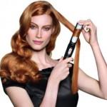 Как завить волосы плойкой